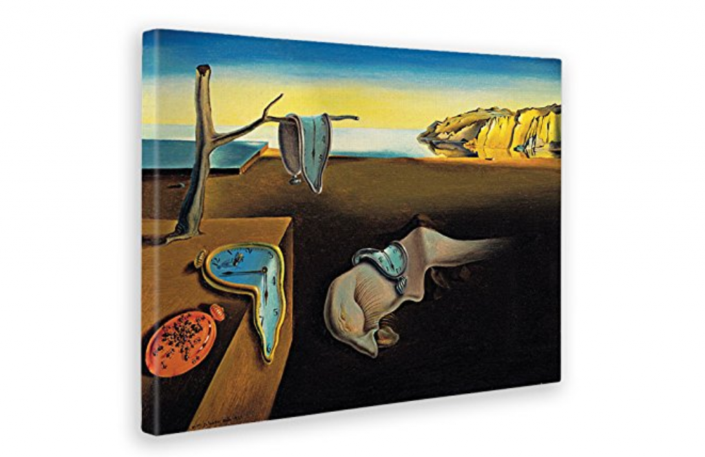 Cuadros abstractos de Dali