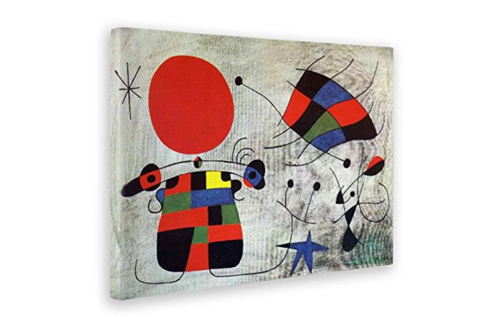 Cuadros abstractos de Miro