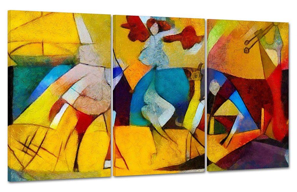 Cuadros abstractos de Picasso