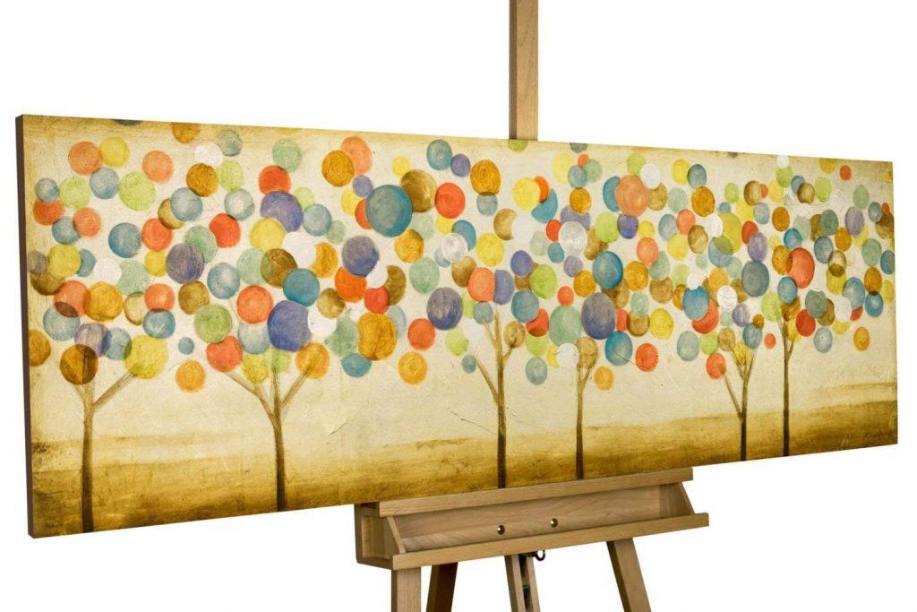 Cuadros acrilicos abstractos modernos