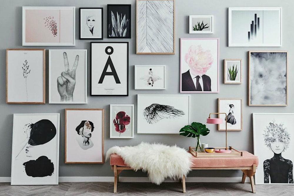 Decora las paredes de tu casa con cuadros