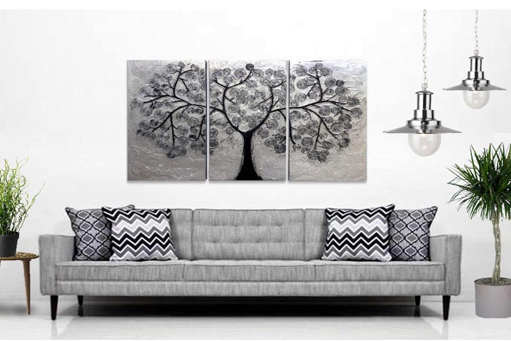 Decora las paredes de tu casa con tripticos