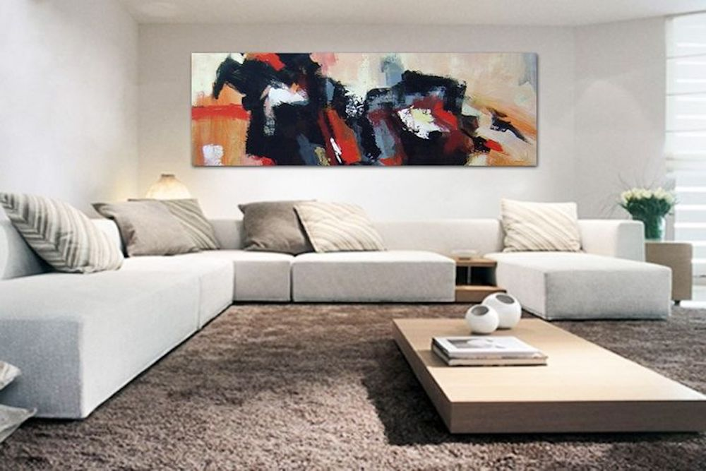 Decora tu casa con cuadros abstractos