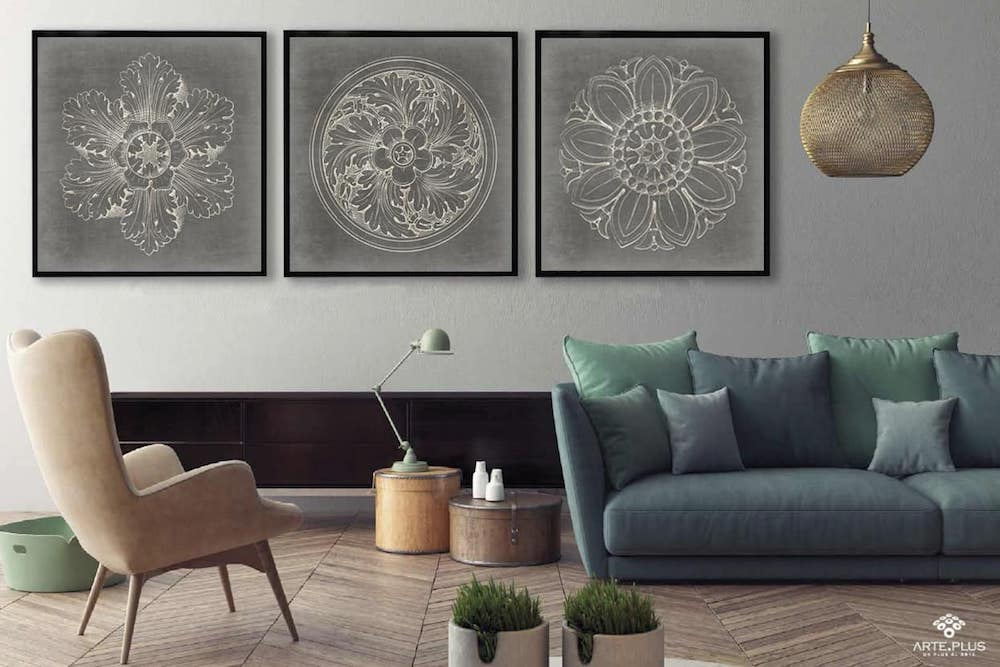 ▷ ¿Cómo puedes decorar el interior de tu casa con cuadros ...