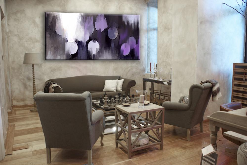 Decorar tu casa con cuadros abstractos