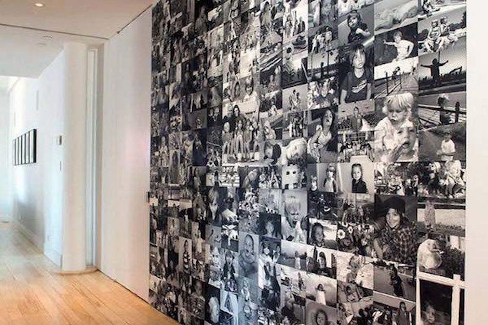 decorar con fotos en blanco y negro