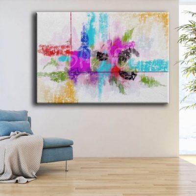 tips para decorar con cuadros grandes