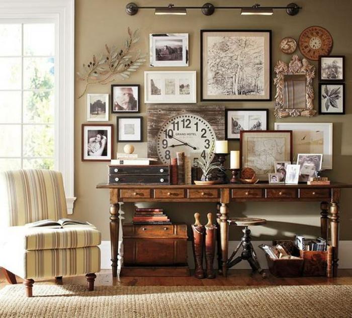 cuadros vintage para salon