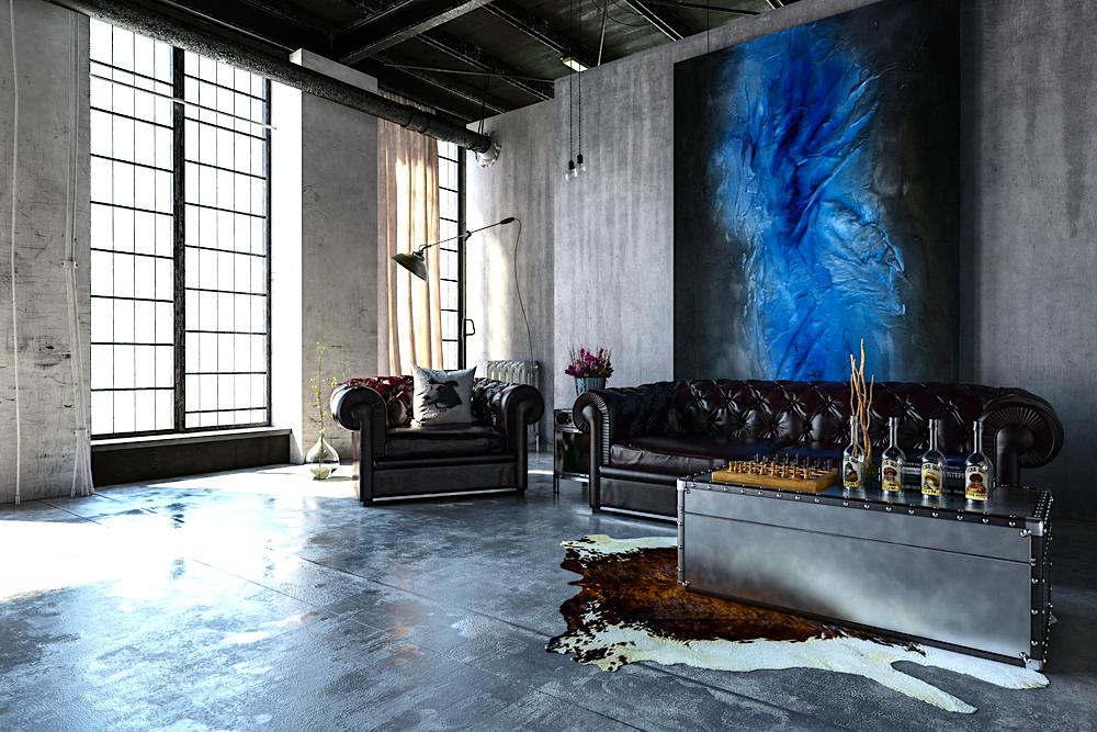 Ideas para decorar con cuadros el salón